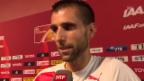 Video «Leichtathletik: WM Peking, Interview Zberg» abspielen