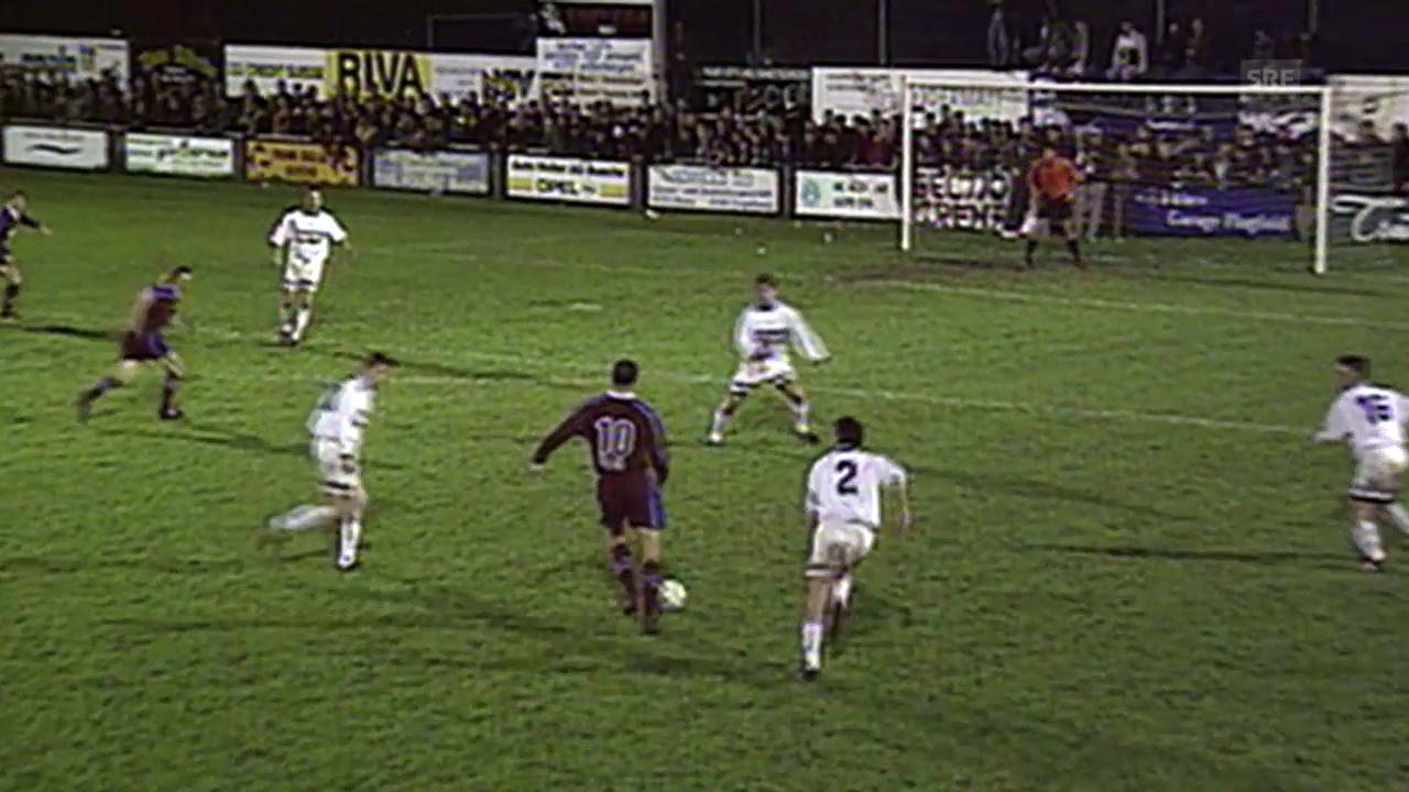 1999: Buochs verliert gegen Servette