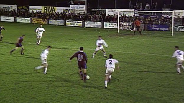 Video «1999: Buochs verliert gegen Servette» abspielen