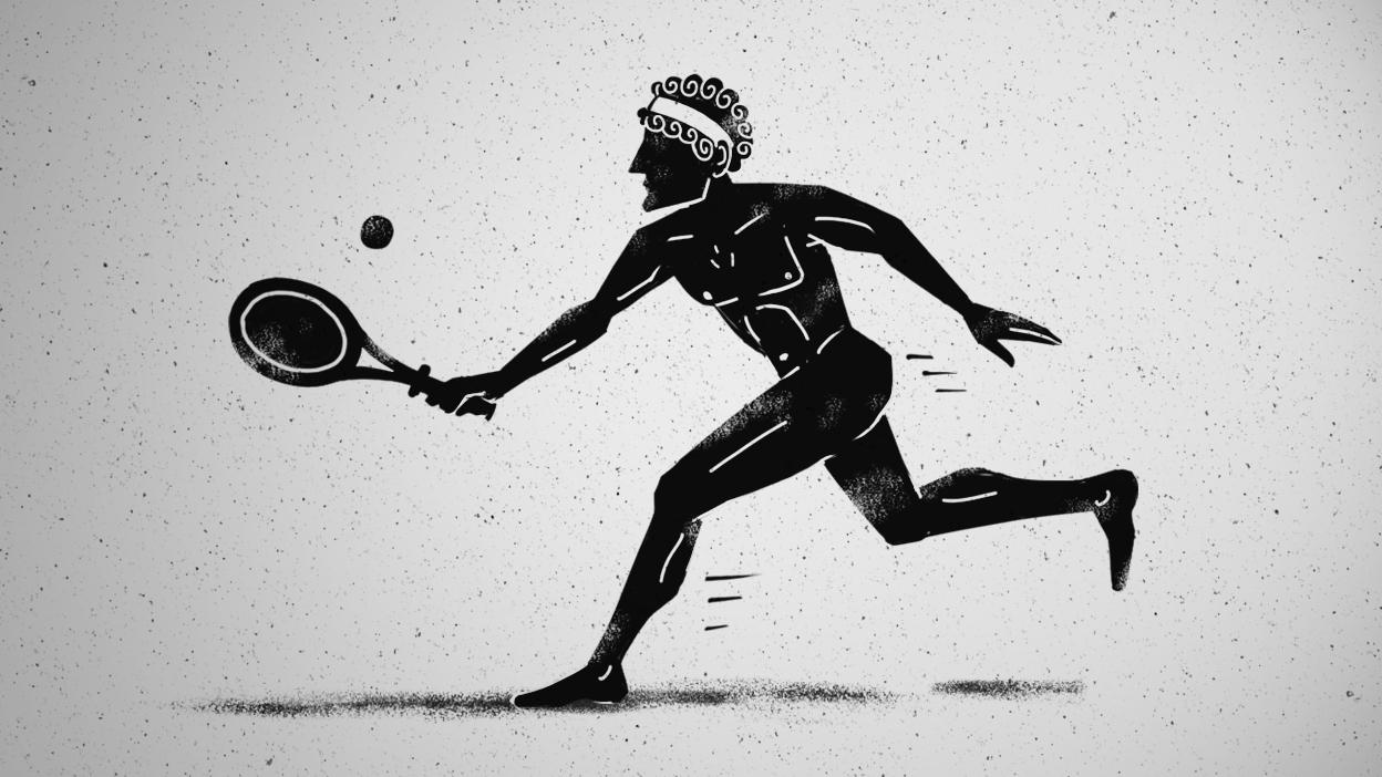 Sokrates und Xanthippe - Federerkos