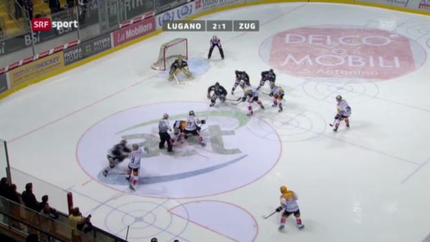 Video «NLA-Playoffs: Lugano - Zug» abspielen