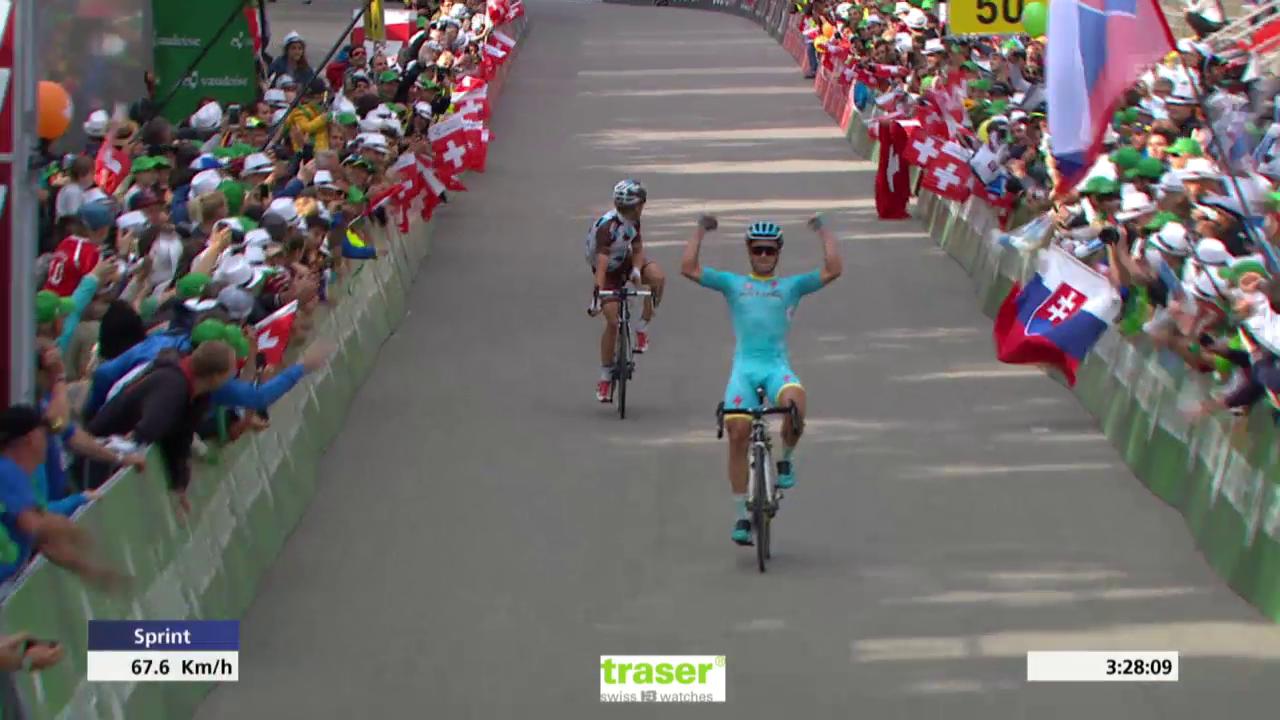 Rad: Tour de Suisse, 8. Etappe, Zielsprint