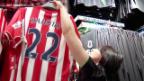 Video «Fussball: Xherdan Shaqiris erste Medienkonferenz bei Stoke City» abspielen