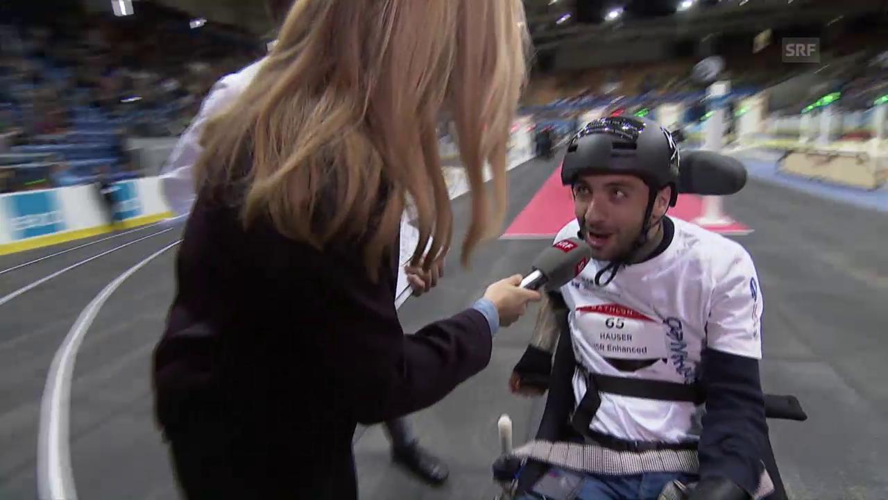 HSR Enhanced gewinnt 3. Rollstuhl-Qualifikation