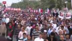 Video «Wieder Gewalt und Tränengas in Bahrain» abspielen