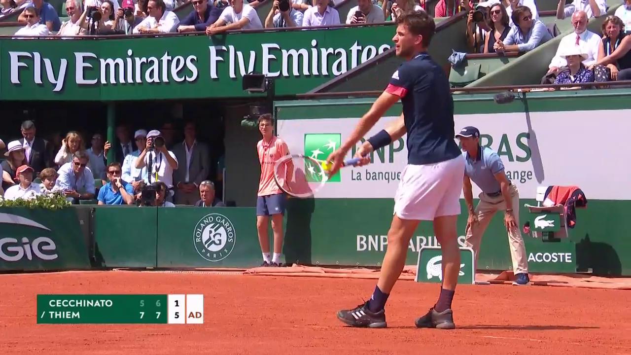 Thiem zieht in den French-Open-Final ein