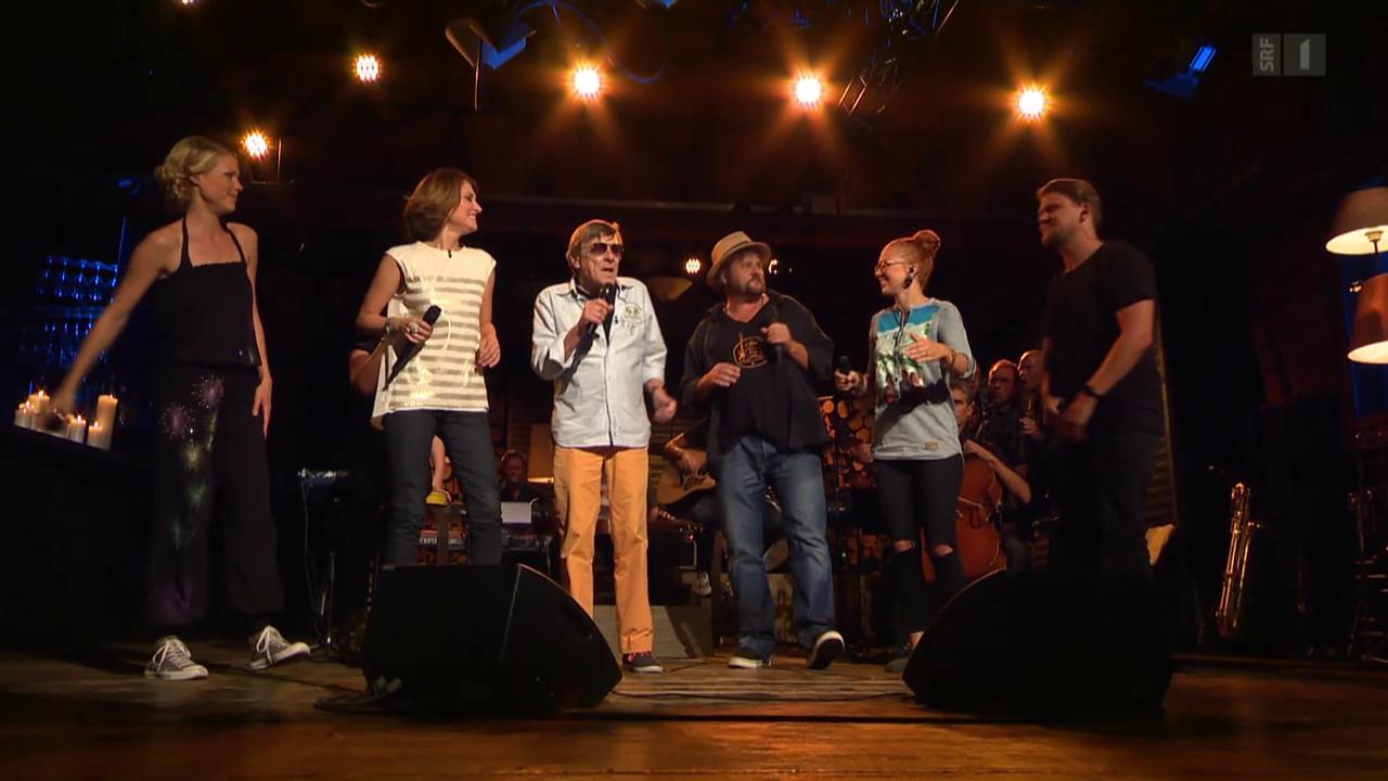 Polo Hofer & Friends mit «Alperose»