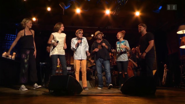Video «Polo Hofer & Friends mit «Alperose»» abspielen