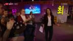 Video «Mark Streit & Katrin Nabholz: Eishockey ist Trumpf bei Chaempieon» abspielen