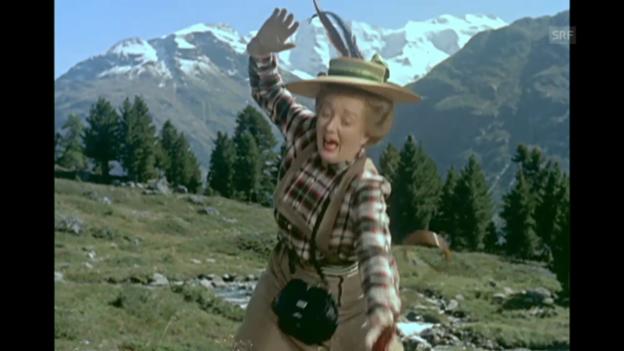 Video «Fräulein Rottenmeier fällt in den Kuhdreck (1955)» abspielen