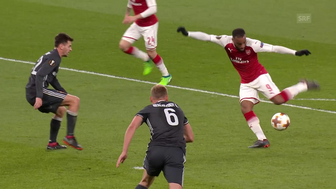 Arsenal zerlegt ZSKA