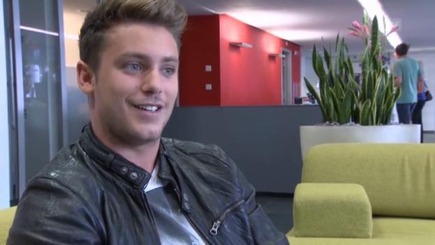 Video «Bastian Baker über seinen neuen Job» abspielen