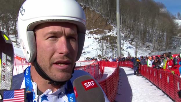 Video «Ski: Bode Miller im Interview (sotschi direkt, 08.02.2014)» abspielen