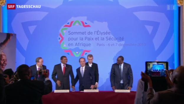 Video «Frankreich als «Polizist» in Afrika» abspielen