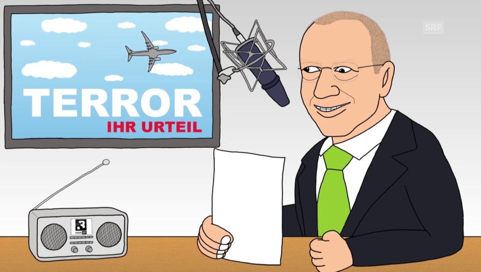 «Grüezi, Monsieur De Weck»: Terror