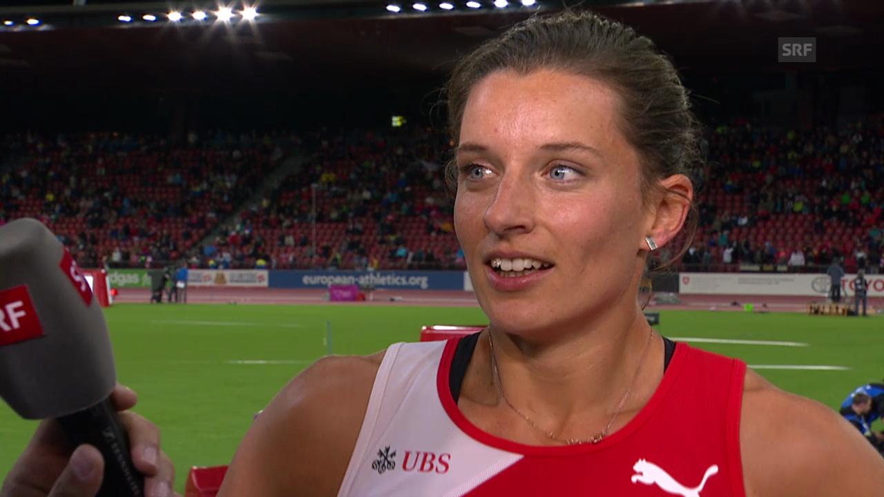 Leichtathletik: Siebenkämpferin Ellen Sprunger im Interview