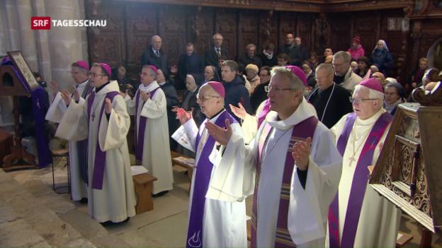 Video «Bischofskonferenz tut Busse» abspielen