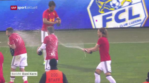 Video «Basel krönt sich in Luzern zum Meister» abspielen