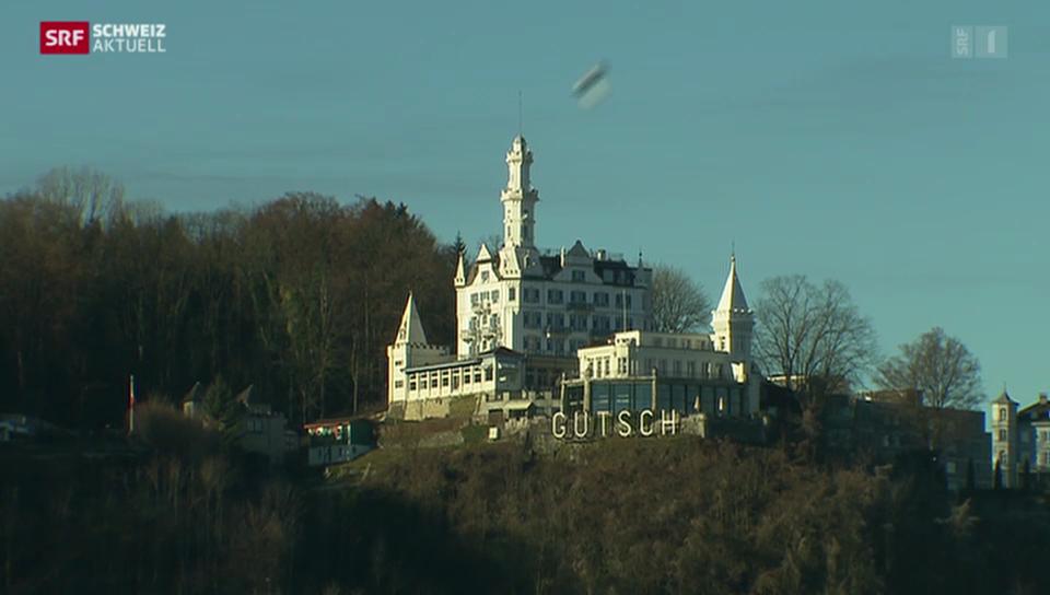 Château Gütsch - Erweiterungsbau gestoppt