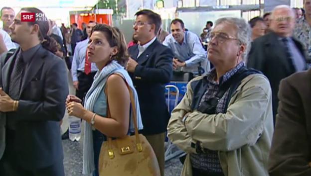 Video ««Die Swissair kann ihre Flüge nicht mehr durchführen»» abspielen