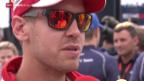 Video «Formel 1: Vettel vor seinem ersten Heimrennen als Ferrari-Pilot» abspielen