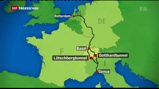 Video «Gotthard: Herzstück zwischen Nord- und Südeuropa» abspielen