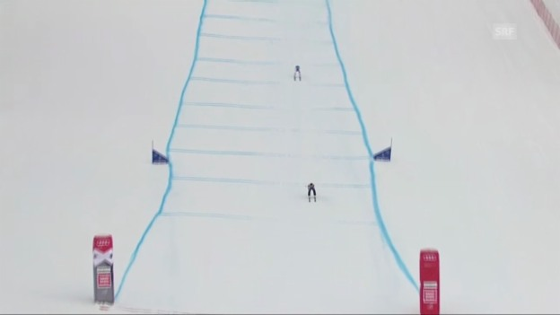 Video «Skicross: Weltcup in Megève («sportaktuell»)» abspielen