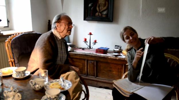 Video «Karina Canellakis zu Gast bei Nikolaus Harnoncourt» abspielen