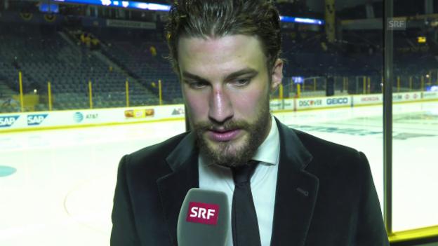 Video «Das sagt Roman Josi über den 1. Sieg im Stanley-Cup-Final» abspielen