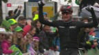 Video «Schweizer Sieg an der Tour de Romandie» abspielen