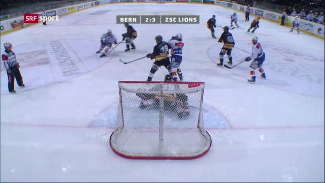Eishockey: SC Bern - ZSC Lions