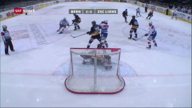 Video «Eishockey: SC Bern - ZSC Lions» abspielen
