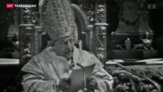 Video «Johannes XIII. auch ohne Wunder heiliggesprochen» abspielen