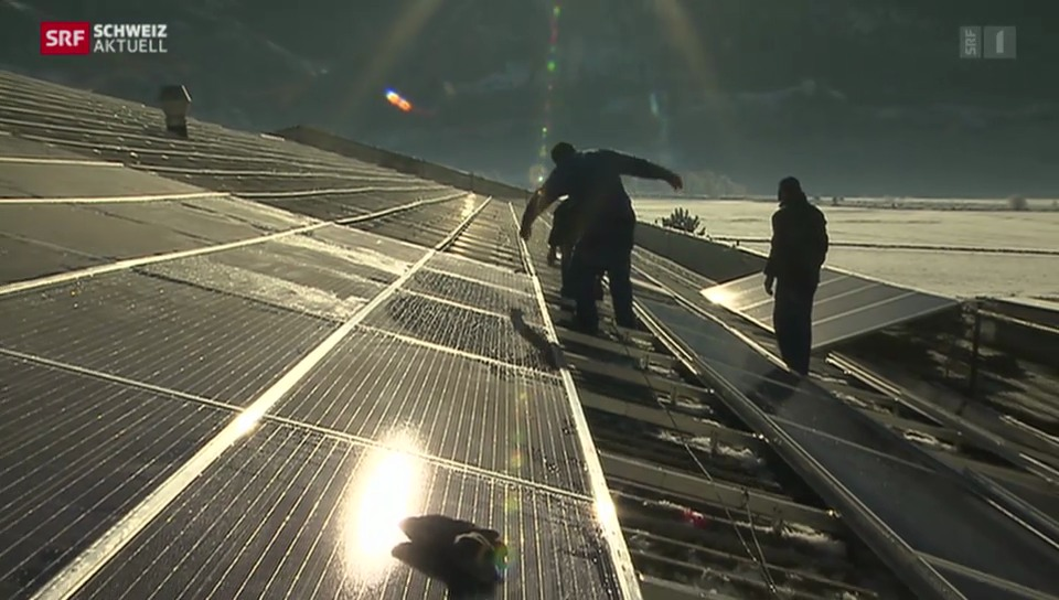 Jahresendspurt für Solaranlagen
