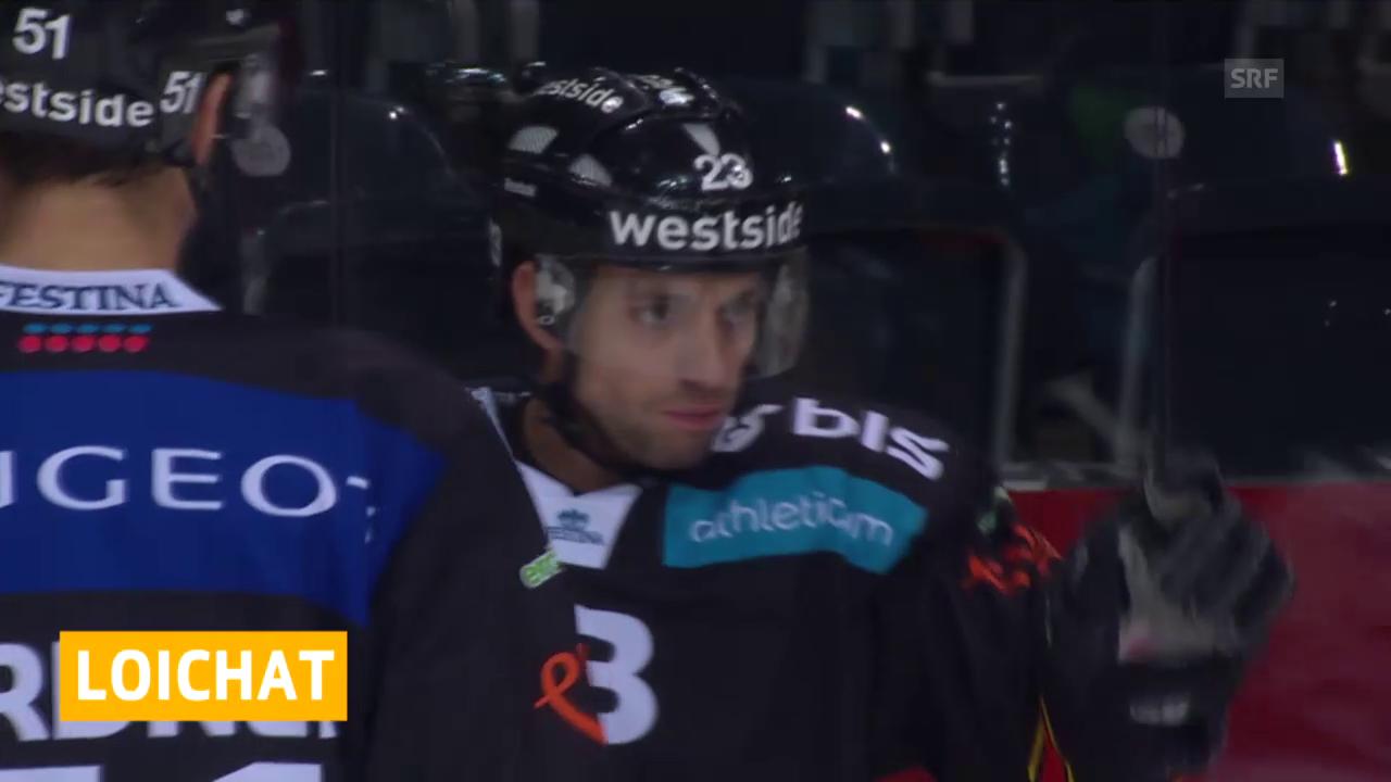 Eishockey: Loichat zu Freiburg («sportaktuell»)