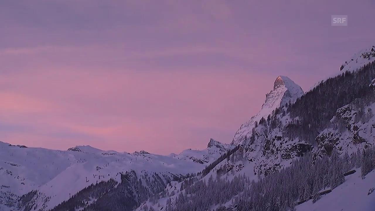 Zermatt am Mittwochmorgen (unkommentiert)