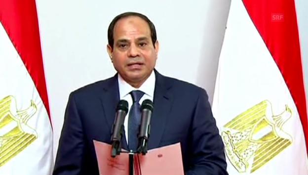 Video «Vereidigung von Adbel Fattah al-Sisi (unkommentiert)» abspielen