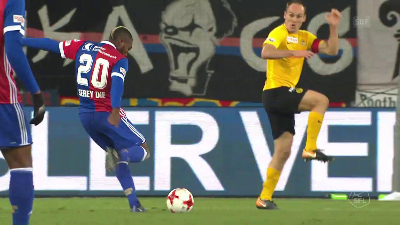 Die Live-Highlights bei Basel gegen YB