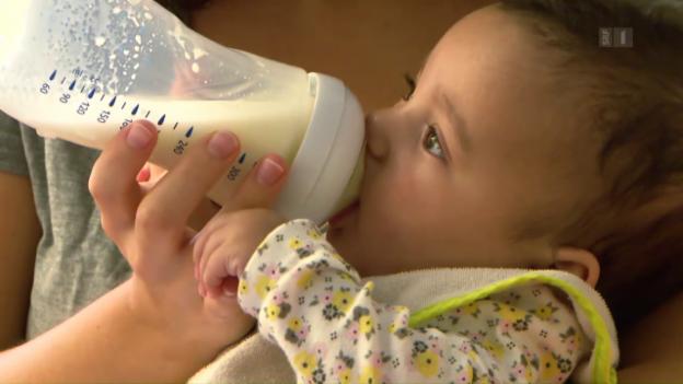 Video «Schadstoffe im Schoppen: Wie sicher ist Babynahrung?» abspielen