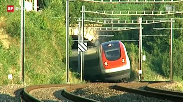 Passagierschreck Neigezug