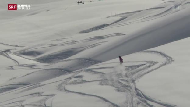 Video «Später Schnee hilft kaum aus den roten Zahlen» abspielen