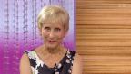 Video «Zu Gast im Studio: die ehemalige TV-Ansagerin Regina Kempf» abspielen