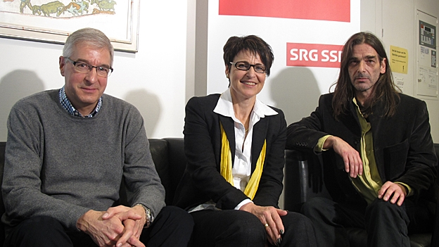 Schmid, Signer, Büechi beziehen Stellung (Philipp Gemperle, 12.02.2013)