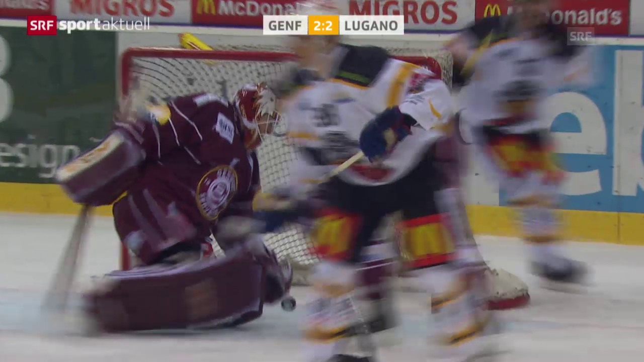 Eishockey: Genf-Lugano