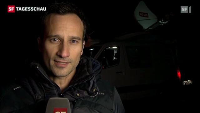 SF-Korrespondent Raphael Amrein in Gurtnellen
