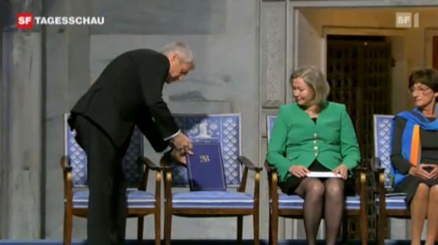 Video «Leerer Stuhl als Symbol» abspielen