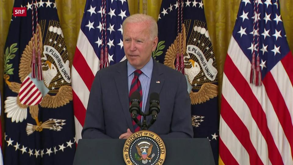 Joe Biden «Ich denke, er sollte zurücktreten»