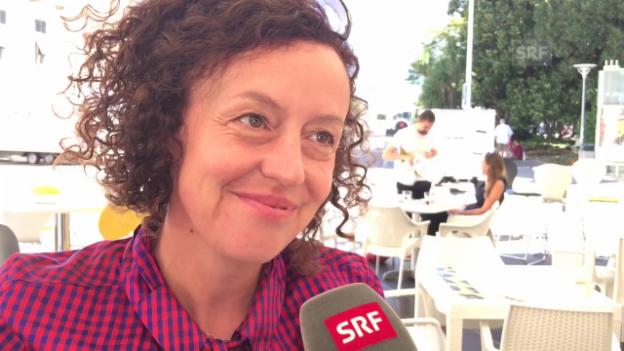 Video «Welchen Film haben Sie am häufigsten gesehen, Maria Schrader?» abspielen