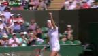 Video «Wimbledon: Schweizer nicht zu bremsen» abspielen