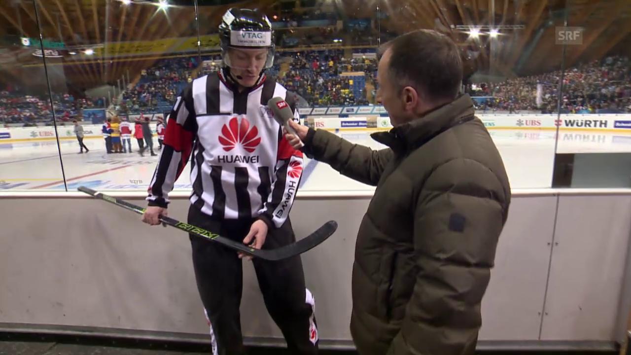 Eishockey: Spengler Cup, «Penalty Checker», Spearing
